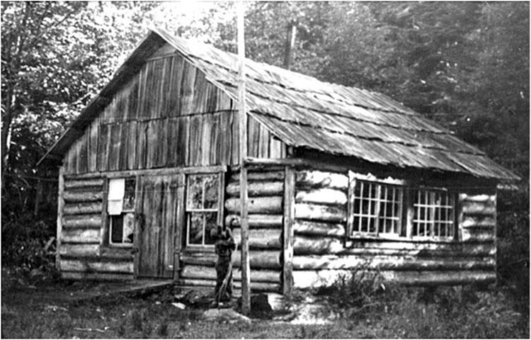 The log school at Surge Narrows.